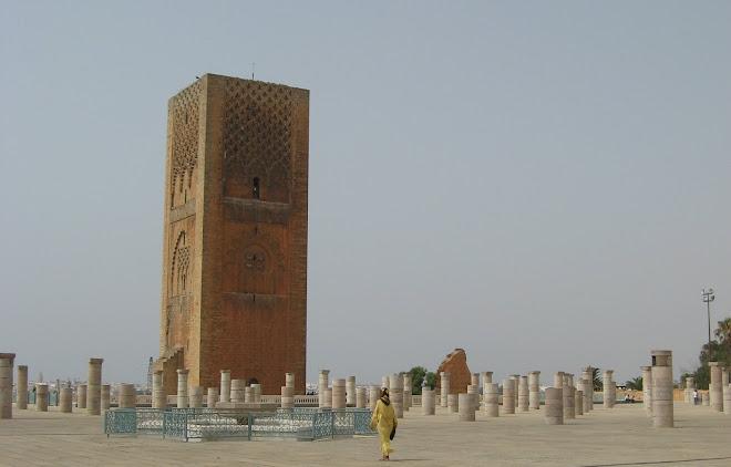 Gran Torre de Hasan en Rabat