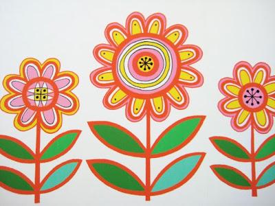 Print Flower on Am Still Working On My New Flower Screen Print Ideas