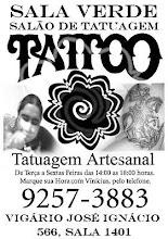 Sala Verde Salão de Tatuagem