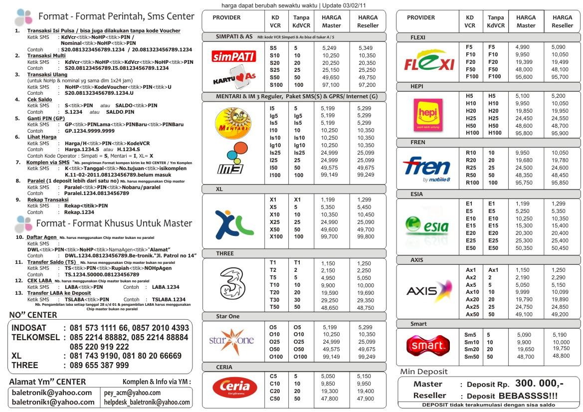 Image Result For Distributor Pulsa Elektrik All Operator Harga Grosir