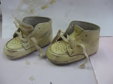 &quot;Vintage&quot; Baby Shoe Tutorial