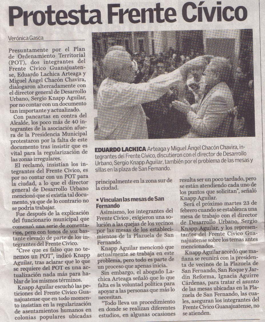 Nicéforo Guerrero deberá atender la problemática de los ciudadanos según la ley