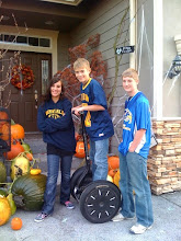 Misty, Cody and Brady on Segway