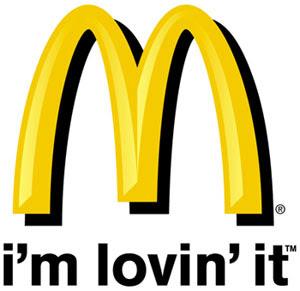 McDonalds i'm lovin' it