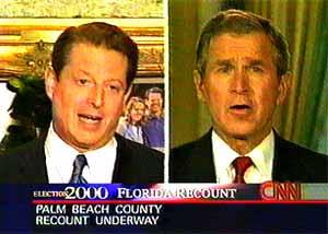 2000 Presidential Election Bush v Gore