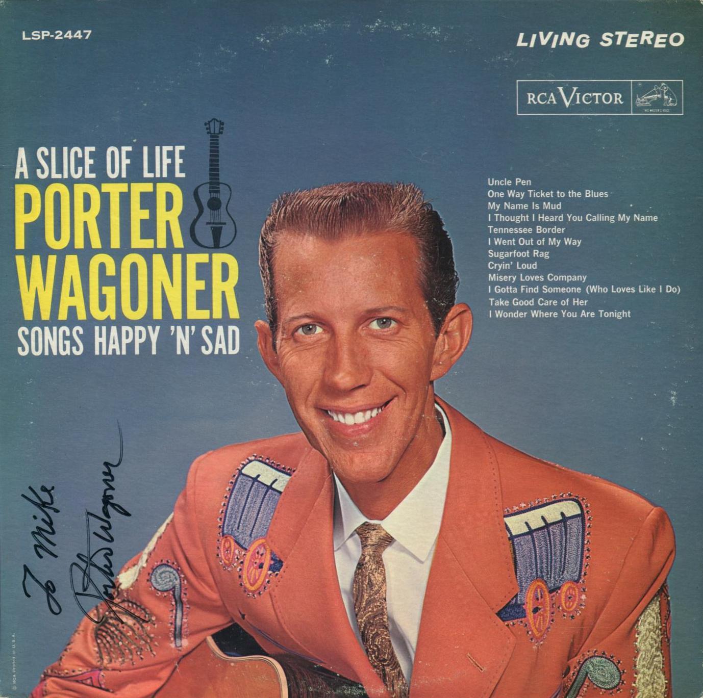 Sign33 porter wagoner for Porter porter