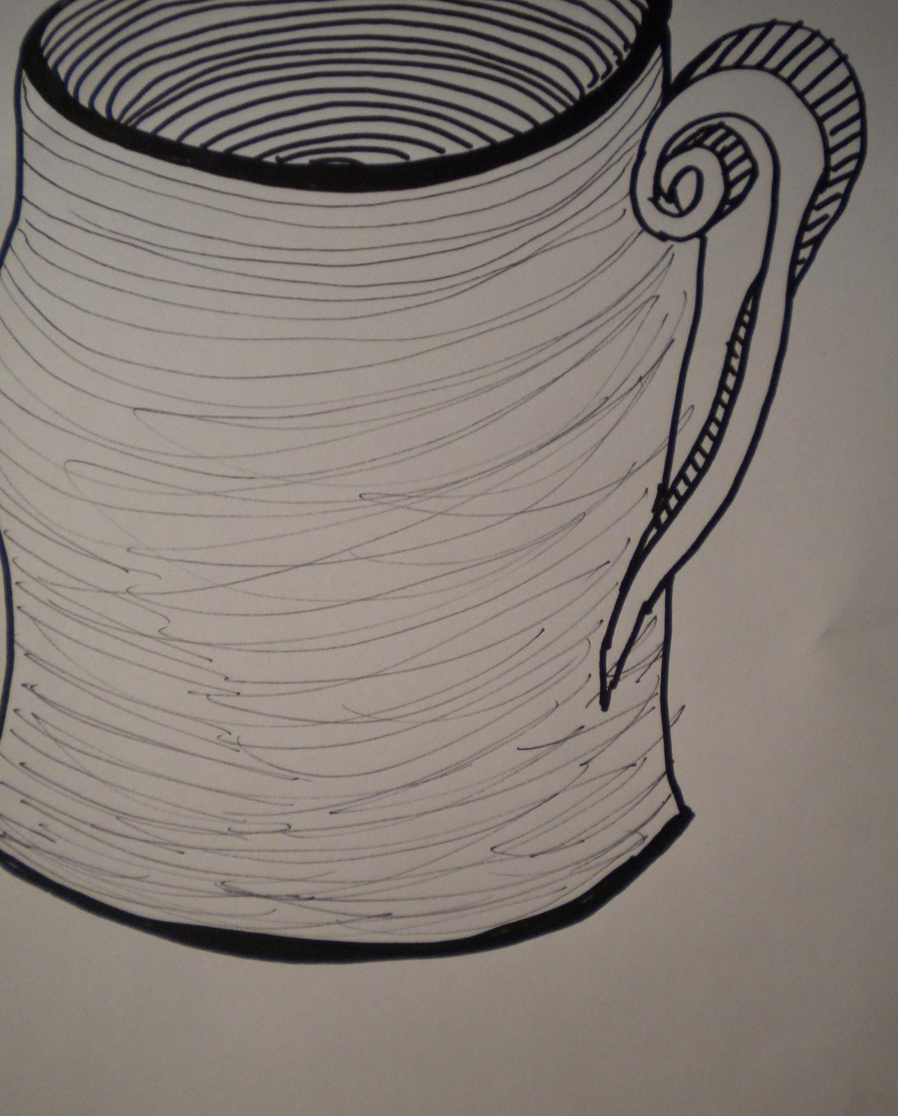 Contour Line Drawing Pumpkin : Lisa ploof drawing