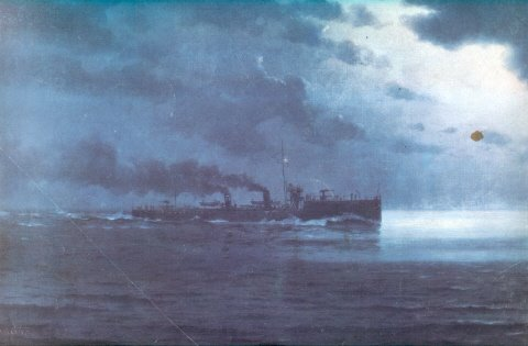 """""""Contratorpedeiro Piauí""""1919"""