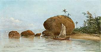 Pedra da Moreninha - Paquetá