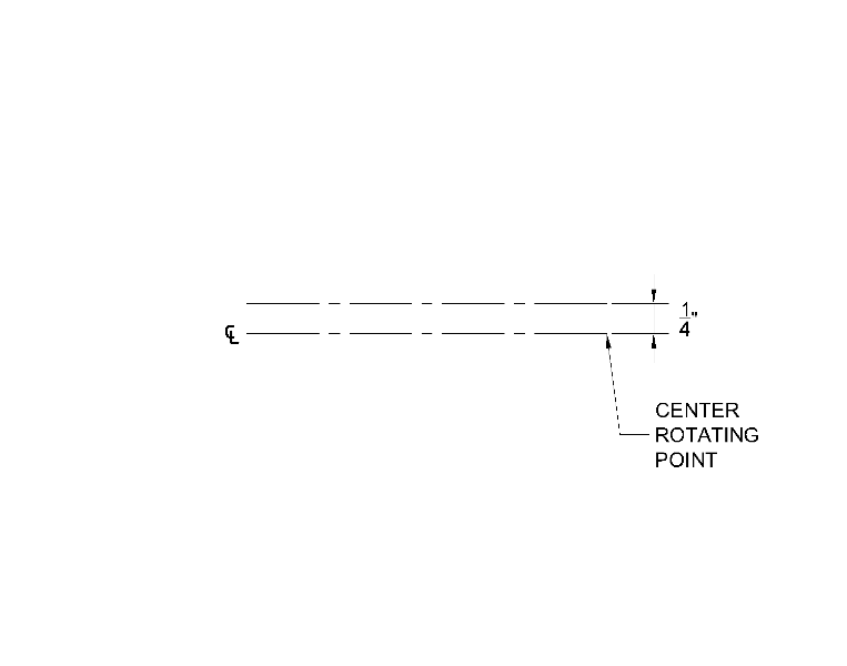 how to draw centerline in autocad