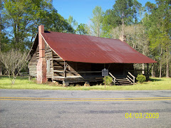 Autrey Dogtrot Log House