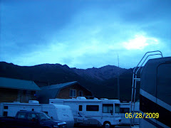 Picture taken outside our RV at 1 am