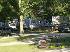 Our RV park at Faribault, MN