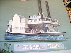 An artist's rendition of the Steamboat Arabia