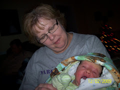 Carol Ruble with Noah