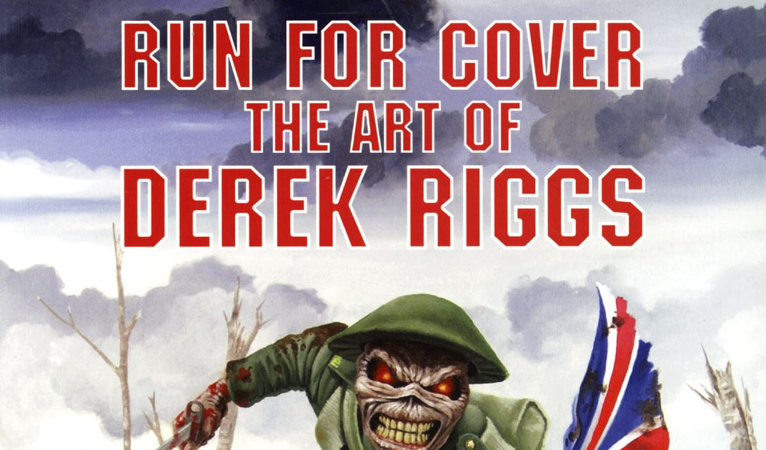 Mountains Of Madness Run For Coverthe Art Of Derek Riggs