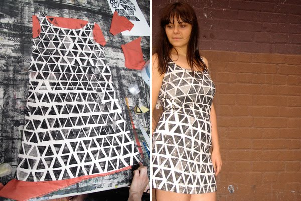caitlin mociun diy potato print dress 4 Patates baskısı elbise