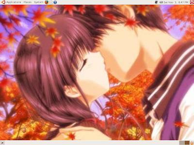 anime couples kiss. anime couples kiss.