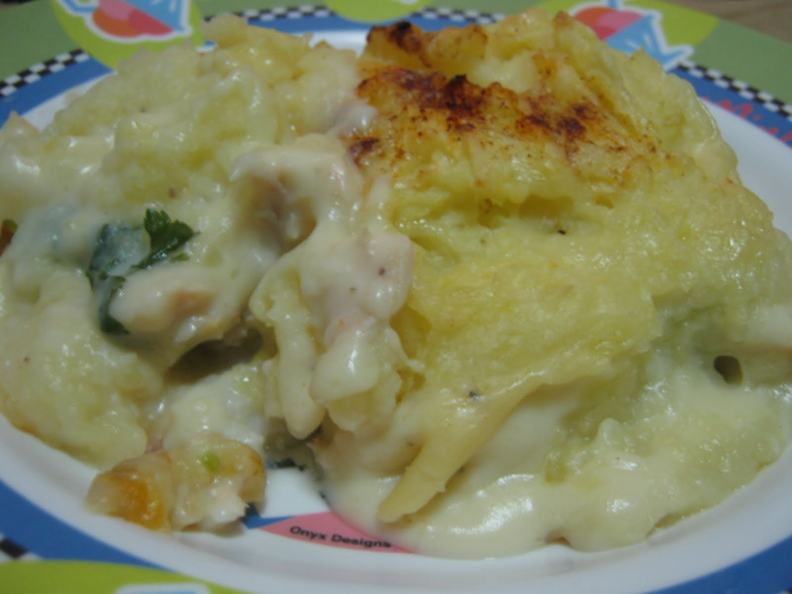 Of Kids and Education: Cor blimey, it's a fish pie!