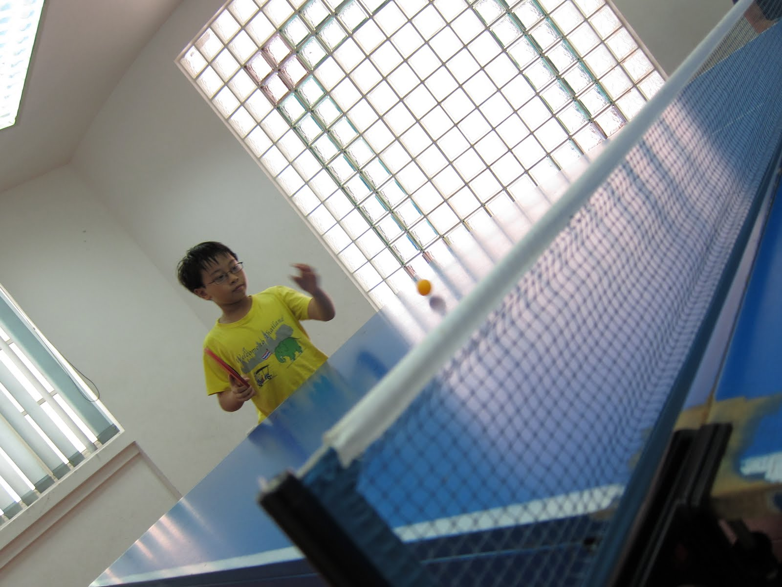 Of kids and education table tennis and a new s90 for Table tennis 6 0