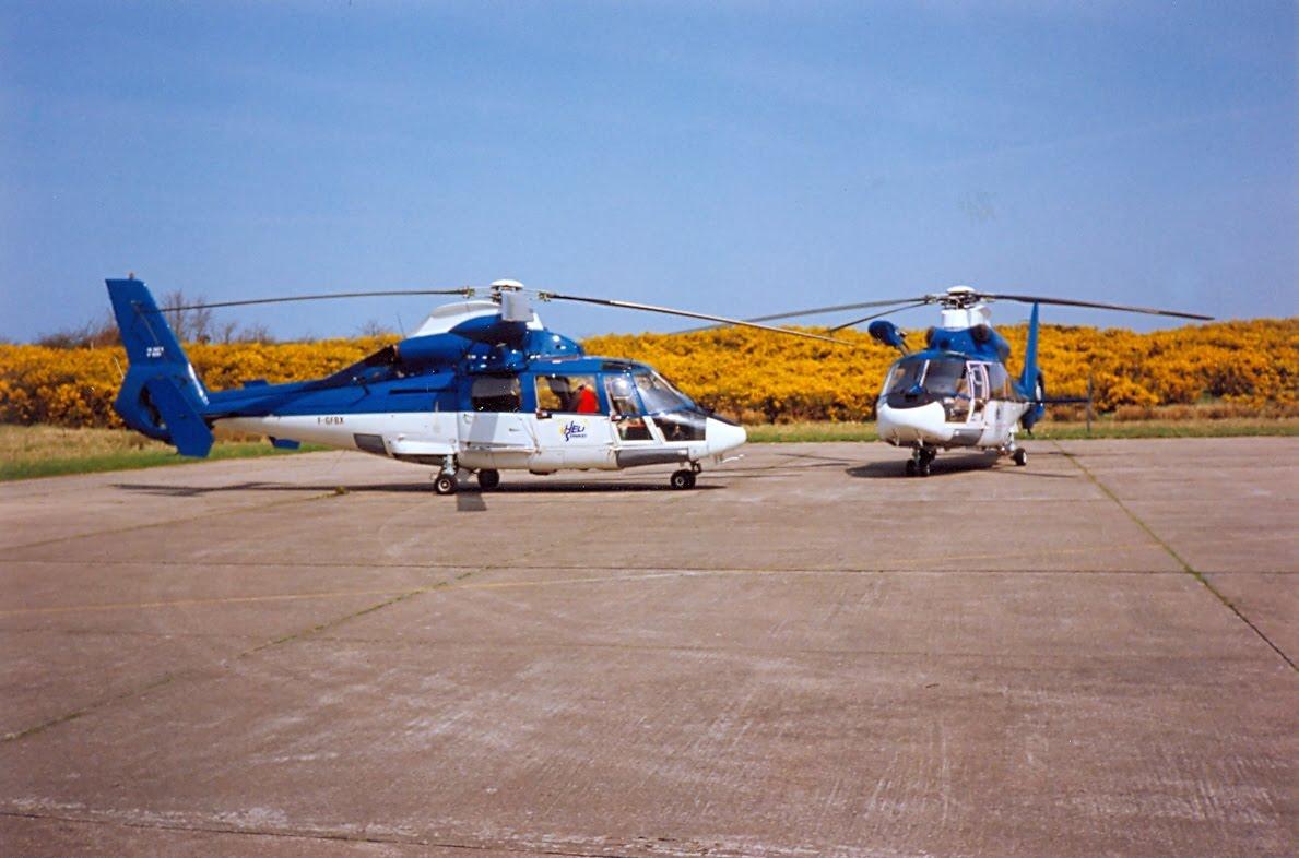 [ Aéronavale divers ] Hélicoptère DAUPHIN - Page 5 H%C3%A9li+sevices+le+Touquet+et+Cherbourg