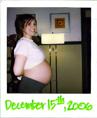 First off, here I am about 34-weeks pregnant pregnant with Hayden: