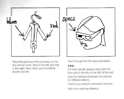 Drawing kit instructions