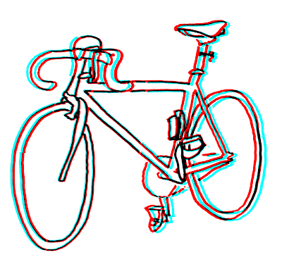 3D bike drawing