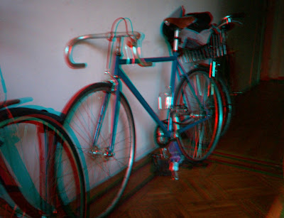 Color 3D bike