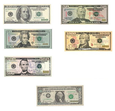 Improved note denominations