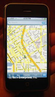 Google Maps on the iPhone