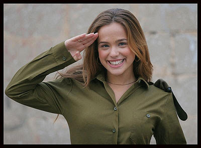Israel8 - Female Israeli Soldier - Photos Unlimited