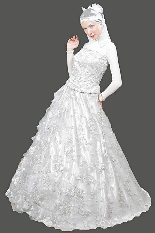 Turkish Wedding Dress 25 Stunning Islamic Dresses with Hijab