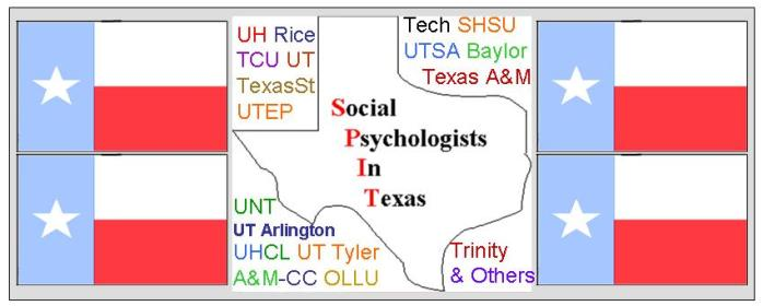 Social Psychologists in Texas (SPIT)