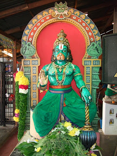 hanumans tale Most interpretations of the tale laud hanuman for burning the beautiful city of  lanka to the ground, and hail rama for killing the rākṣasa.