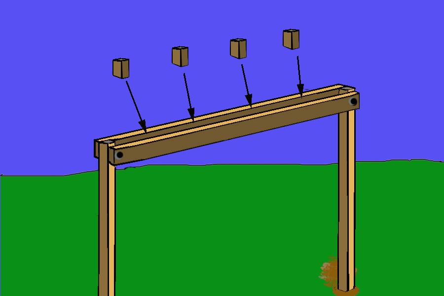 Howdy ya dewit homemade backyard swings for 4x4 swing set plans