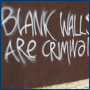 Blank walls are criminal [by Broken Simulacra]