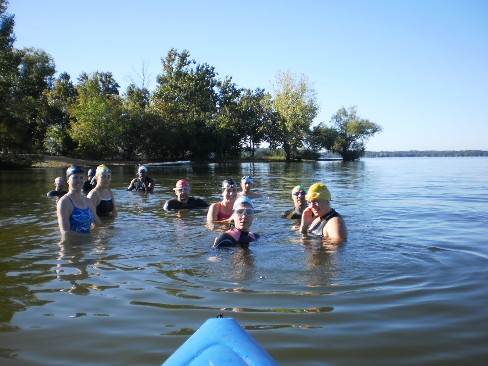Corporate Fitness Promotions Labor Day Open Water Swim
