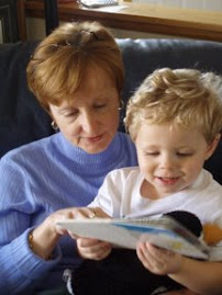 Reading with my aunt