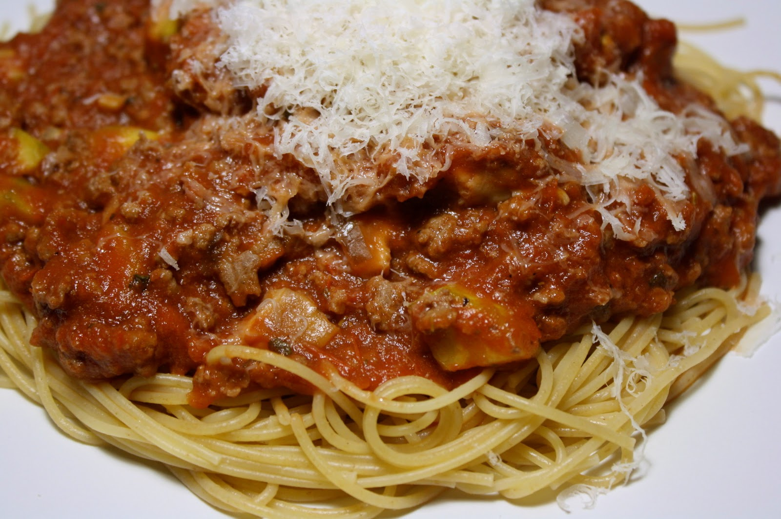... Mushroom, Zucchini And Meat Sauce | The Carnivore And The Vegetarian