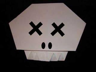 Origami Skull!