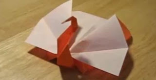 Origami Thanksgiving Turkey