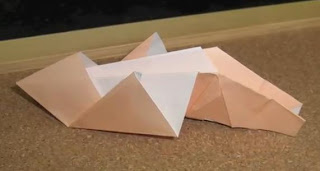 Christmas Nativity Baby Jesus - Origami Christmas