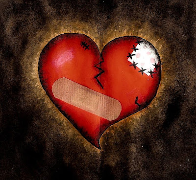 heart broken love. Broken Love Heart