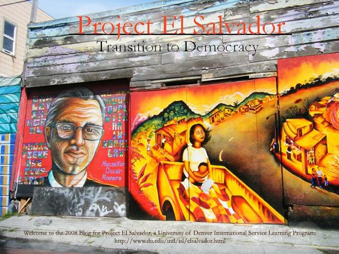 Project El Salvador: Transition to Democracy