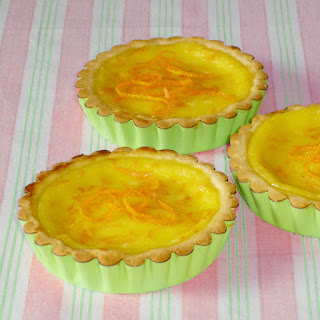 Tartelettes à l'orange à l'ancienne