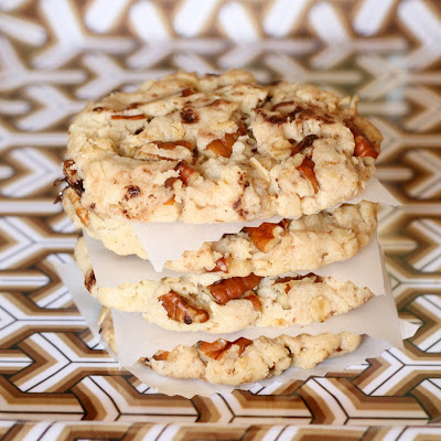 Cakes in the city: Oatmeal, chocolate chip and pecan crousti cookies