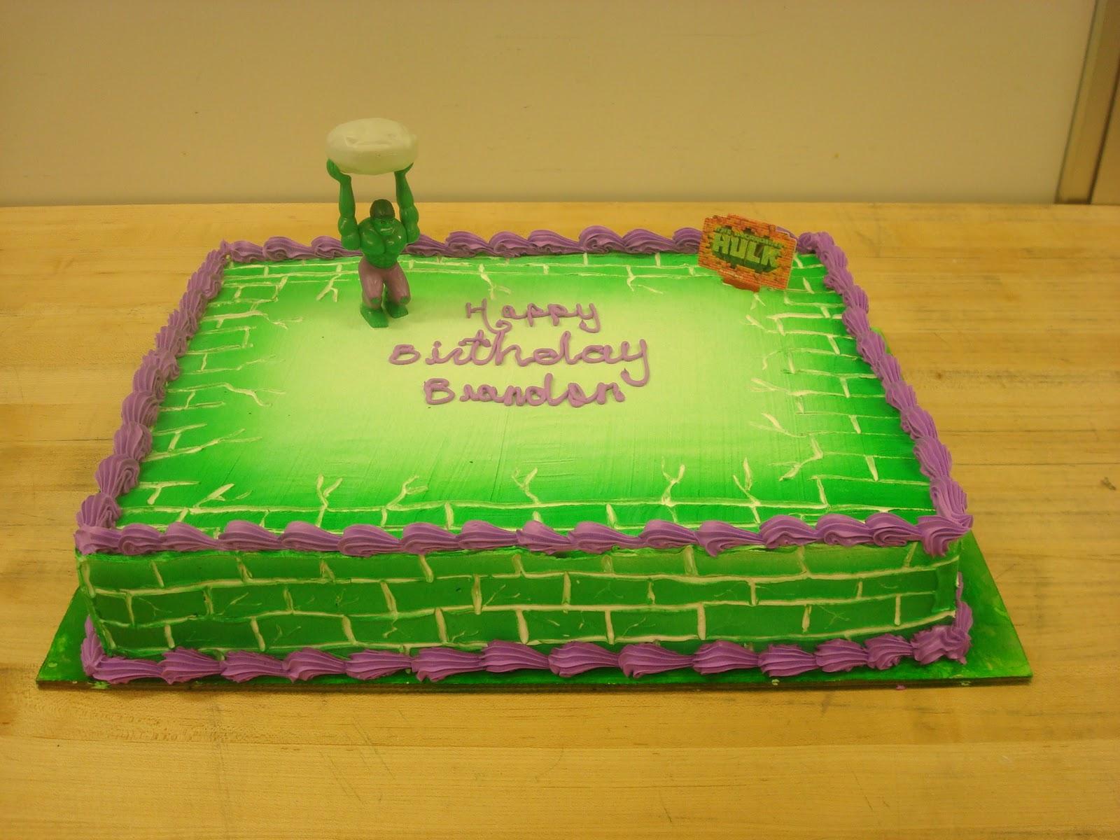 Cakes by Anali Incredible Hulk cake