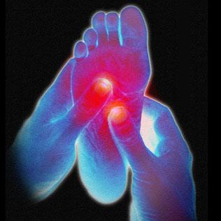 REFLEXOLOGIA PODAL - Estimula e equilibra os Órgãos Vitais através de pontos específicos nos pés