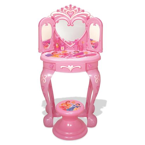 Princess Vanity Table Disney Princess Vanity Table With Stool Toys ...